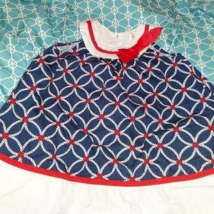 Nautical design dress 👗.